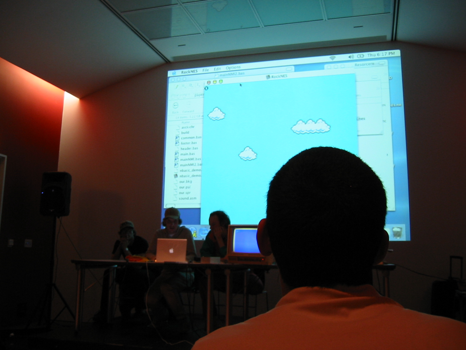 8 BIT presentation - BEIGE at Version>03 Festival, The Museum of Contemporary Art in Chicago (2003)